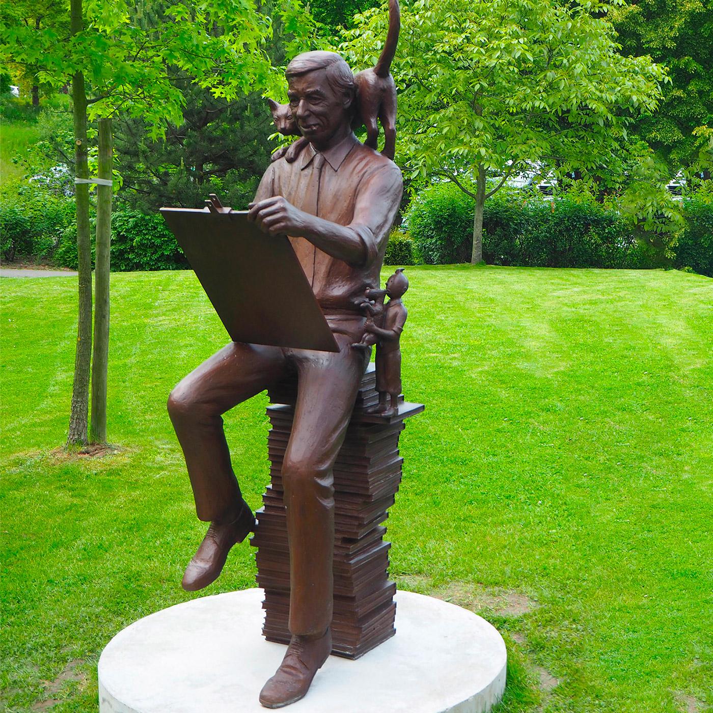 Hergé Sculpture Frantzen
