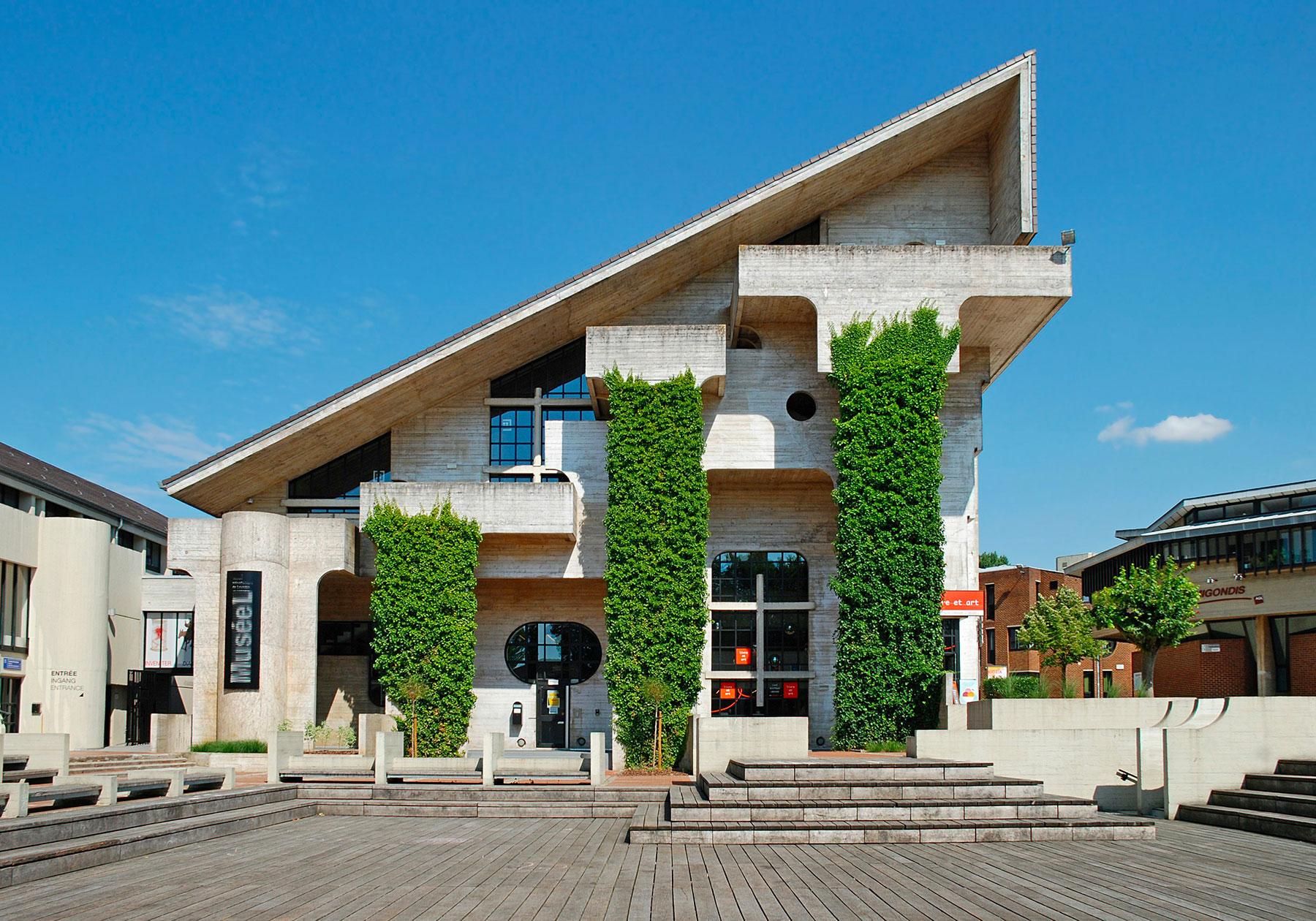 The L Museum in Louvain-la-Neuve