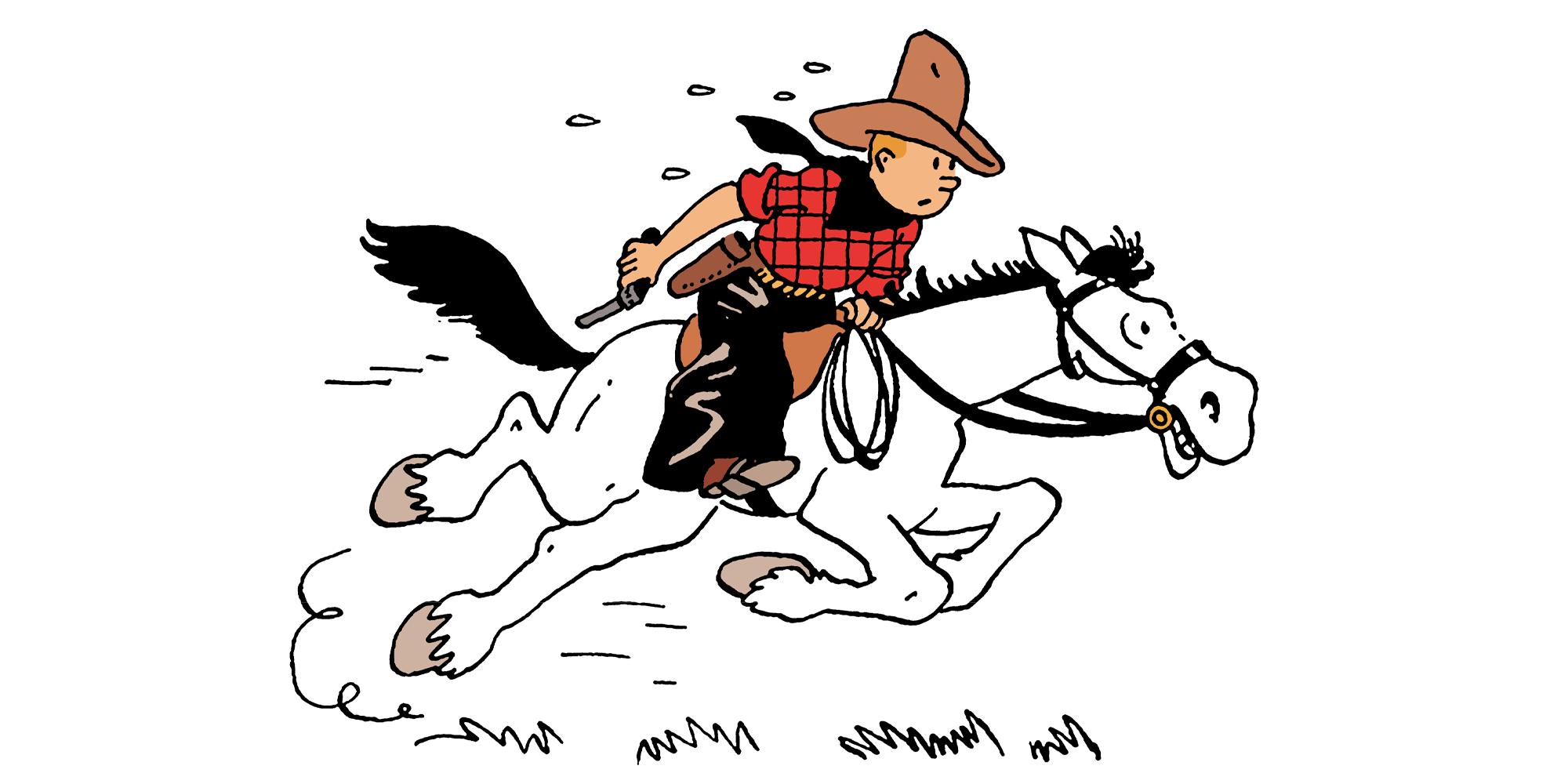 Tintin en Amérique - exposition