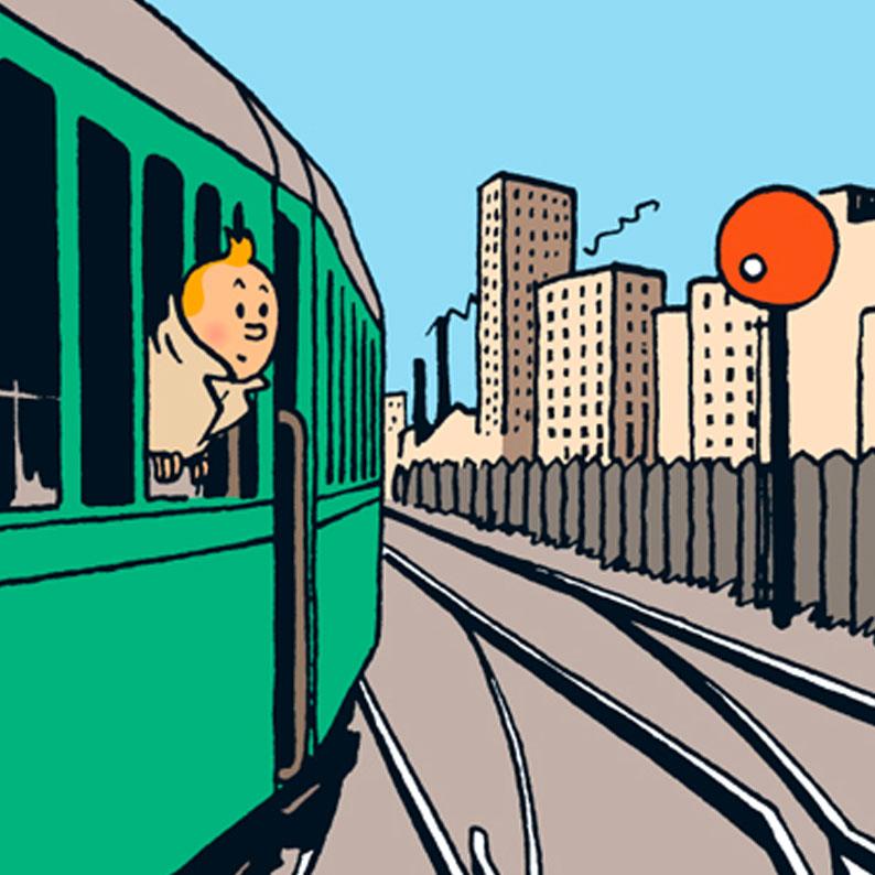 Tintin train