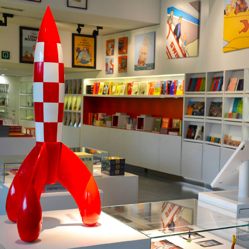 Musée Hergé boutique librairie