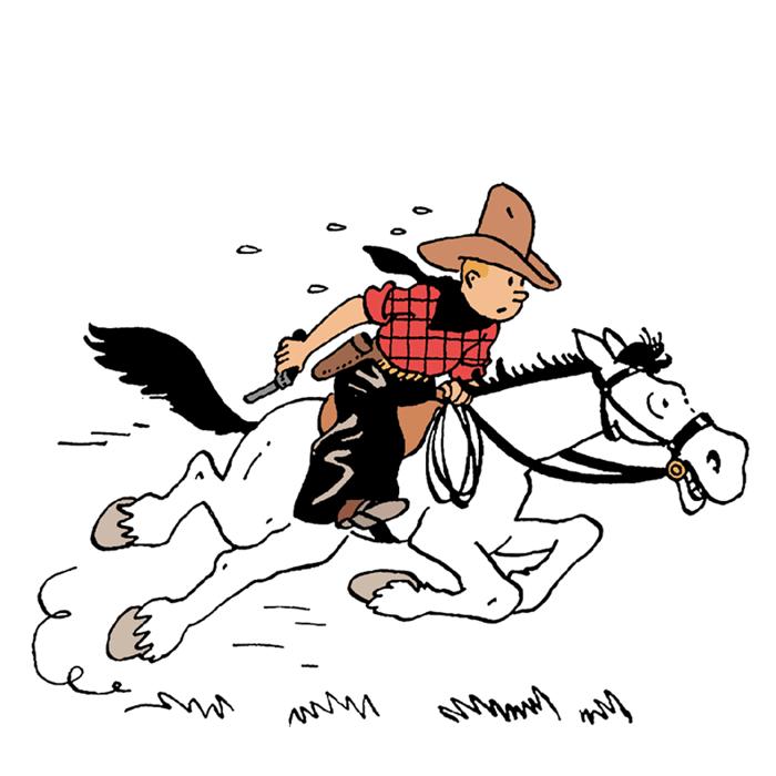 Musée Hergé - Exposition en Amérique avec Tintin