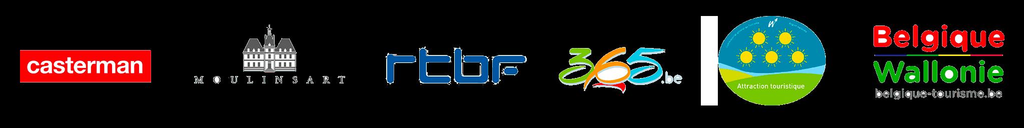 Logo partenaires Parteners' logo