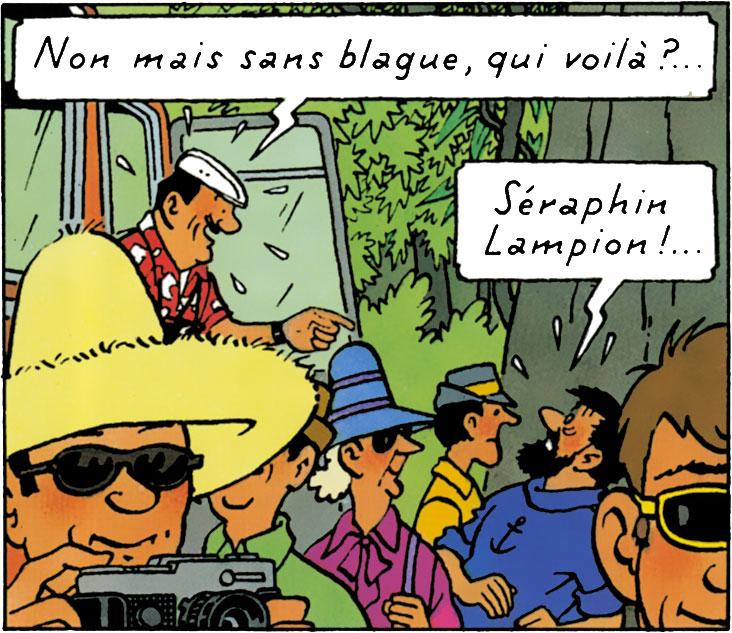 Tintin et les Picaros - Séraphin Lampion, Haddock