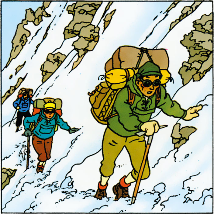 Tintin au Tibet - Tharkey Sherpa