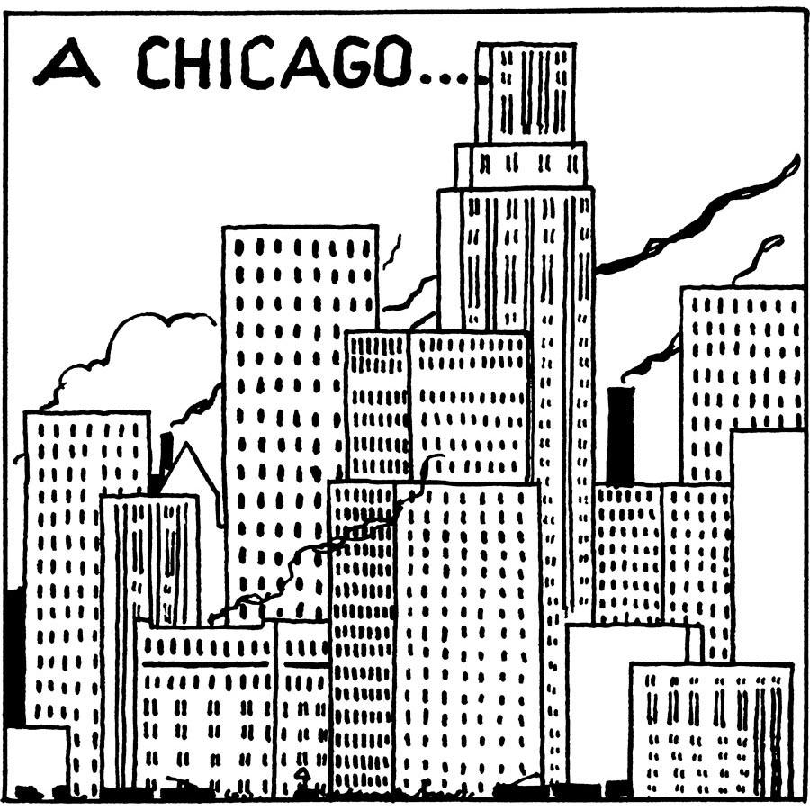 Tintin en Amérique - Chicago
