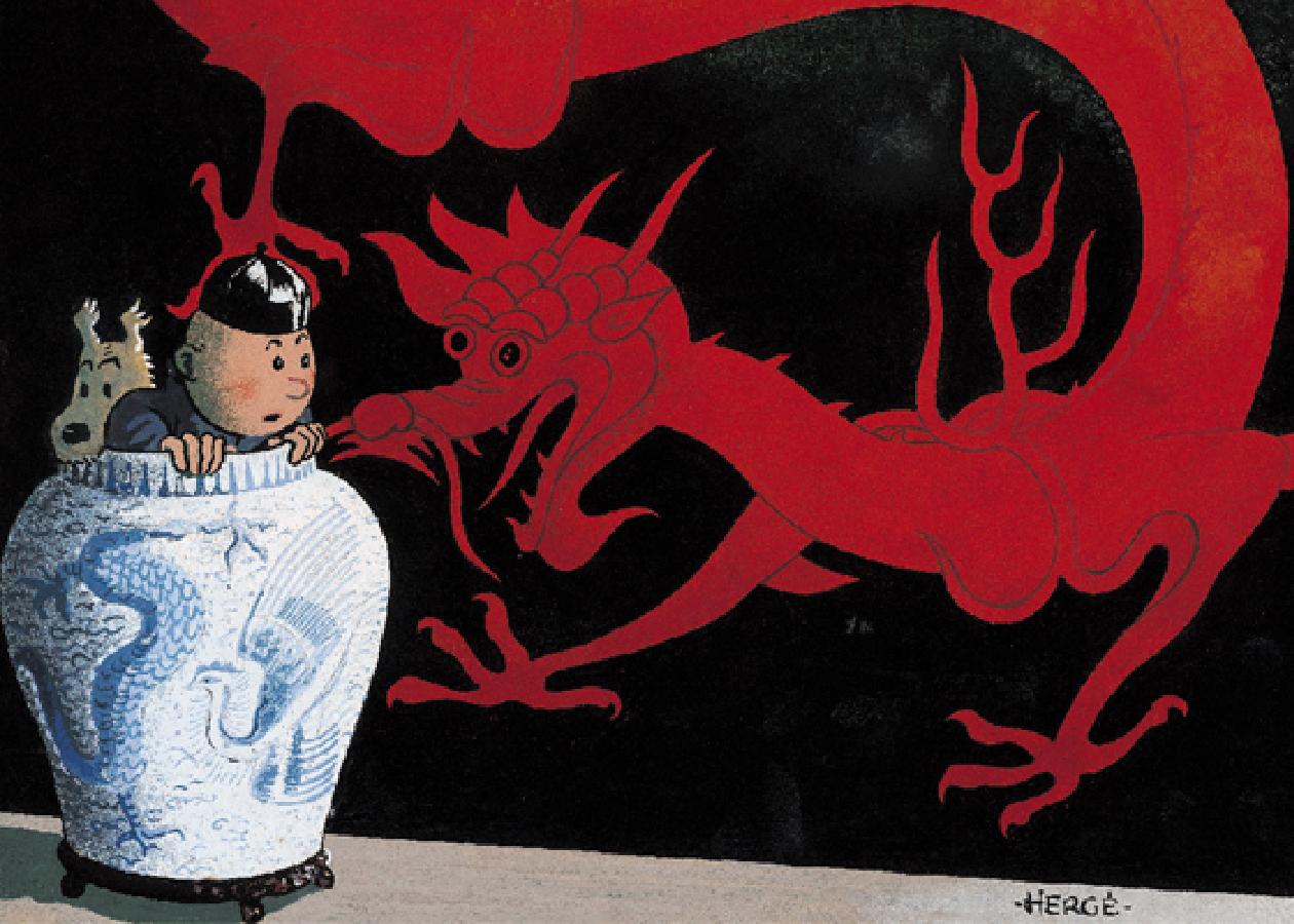 Ebook tintin - La chine par Tintin - Hergé Creation