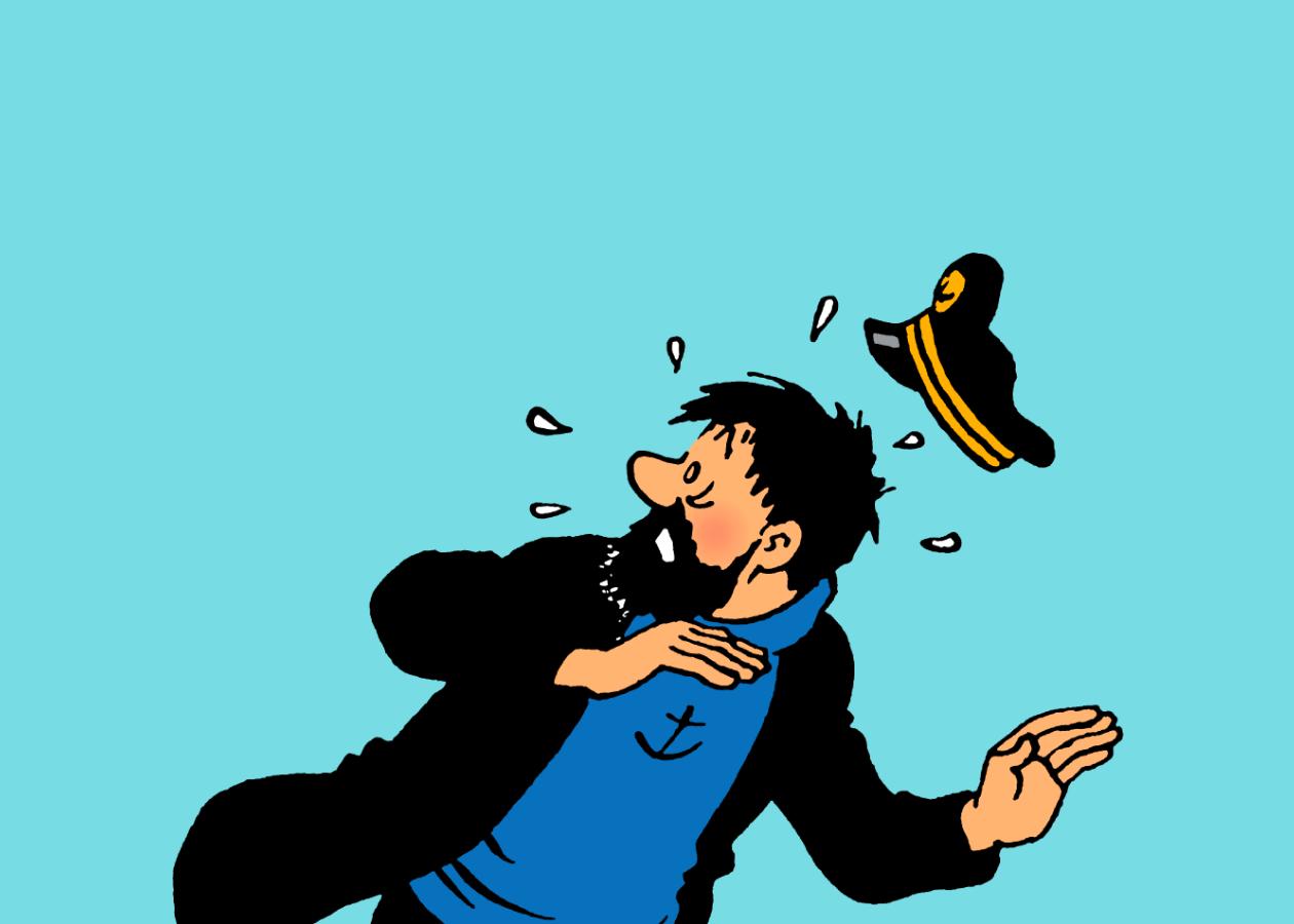 Le capitaine Haddock