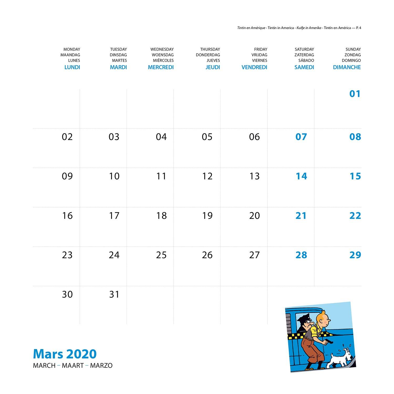 Calendrier 2020 Et 2019.Le Nouveau Calendrier 2020