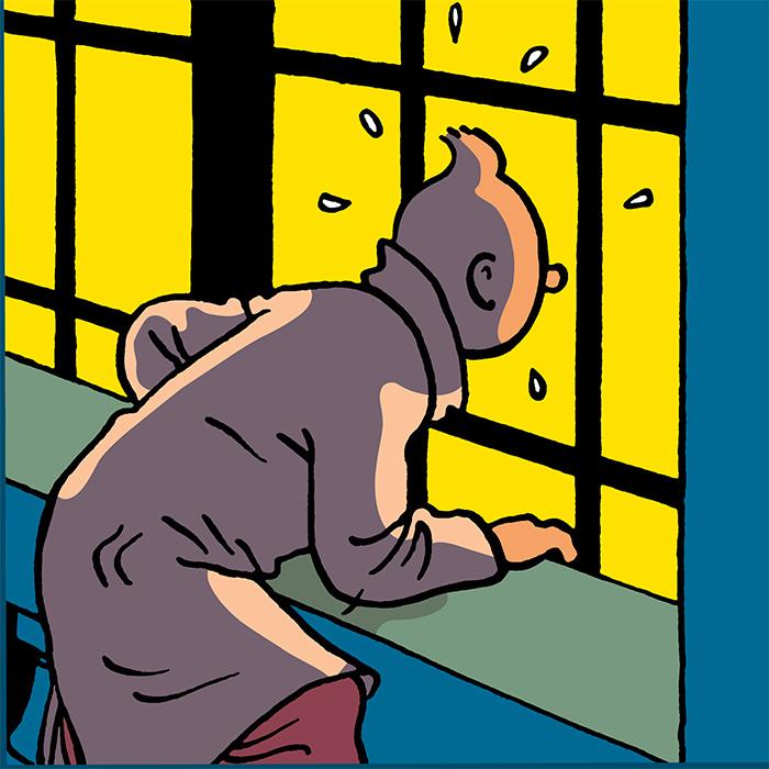 Exposition « Le Monde de Tintin » à Levallois
