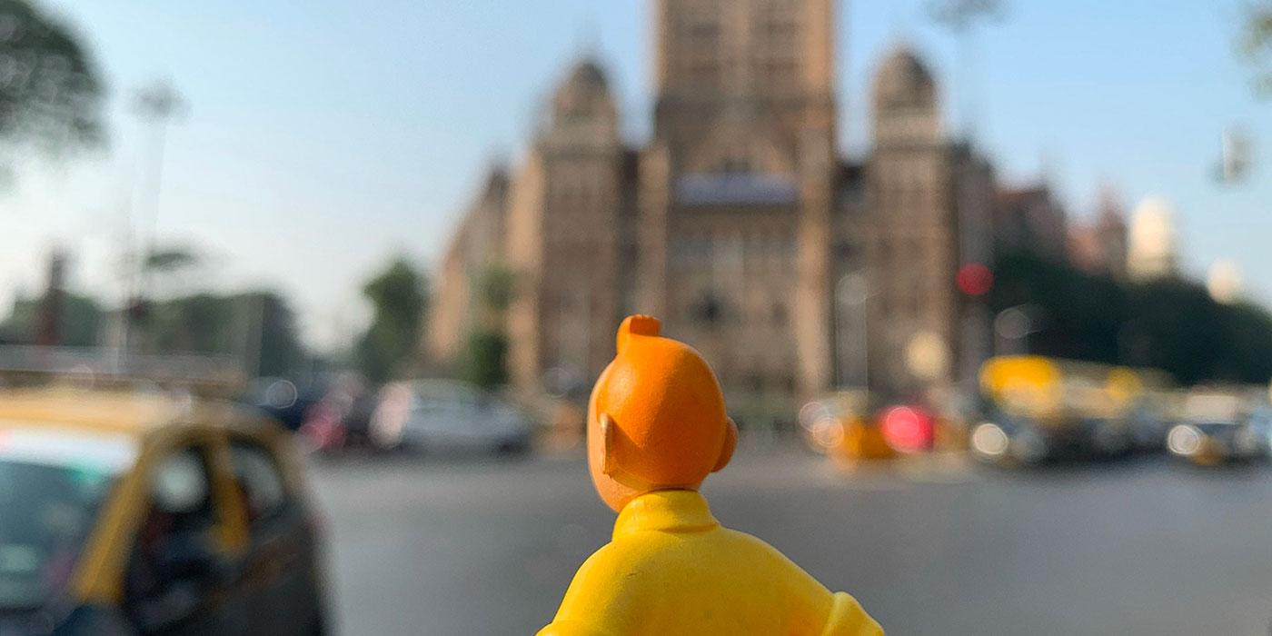 Tintin à Bombay