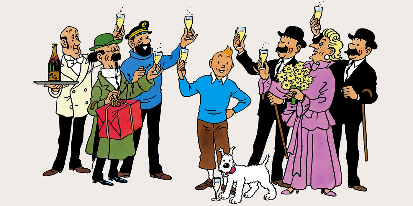 Bon Anniversaire Tintin !