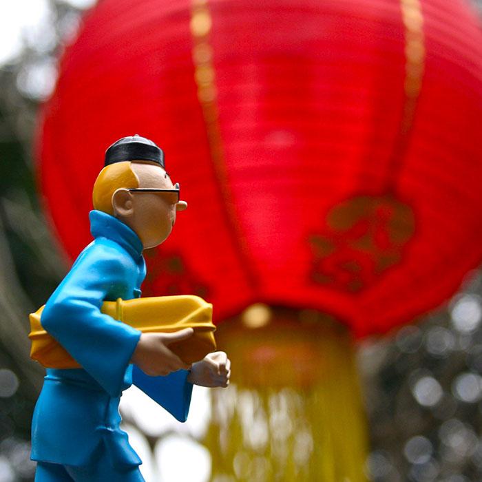 Le Musée Hergé fête le Nouvel An chinois.