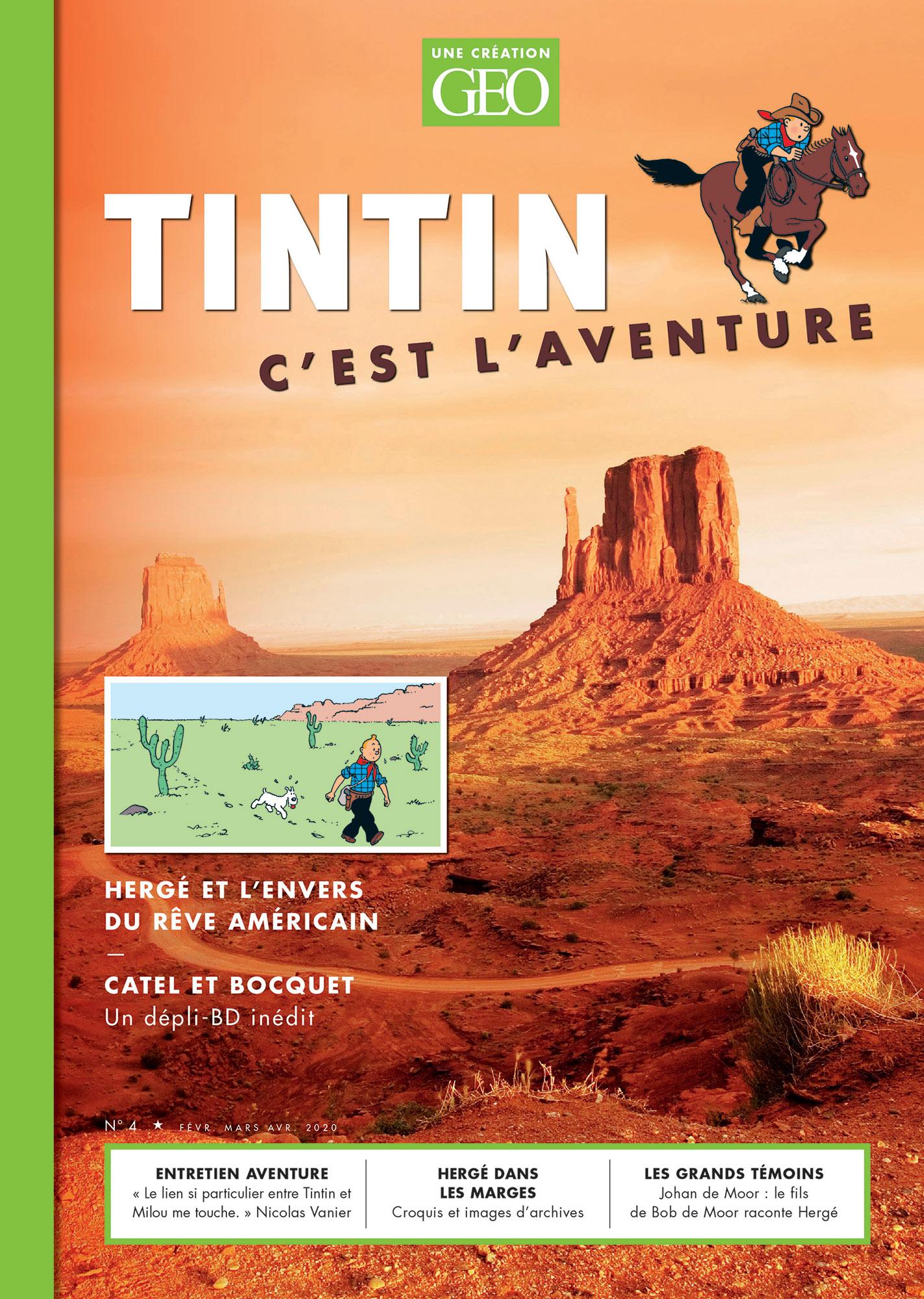 Géo Tintin c'est l'aventure tome 4