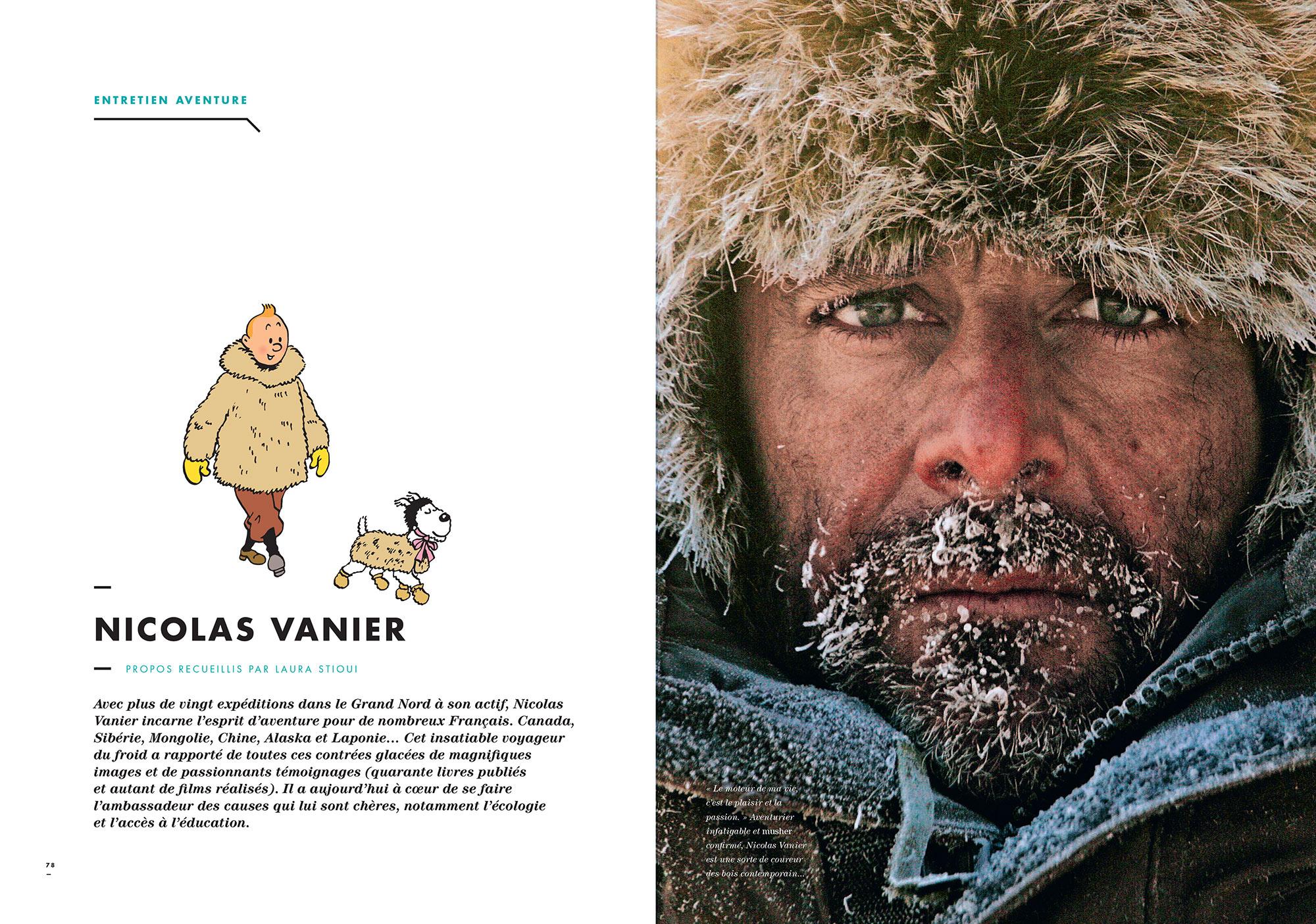 Nicolas Vanier Tintin c'est l'aventure tome 4