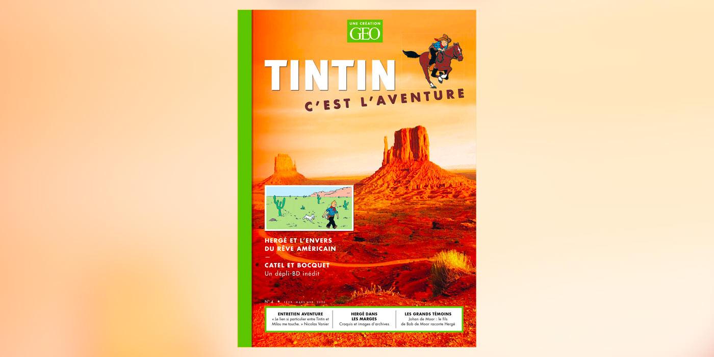 Tintin c'est l'aventure : un 4e numéro spécial Amérique