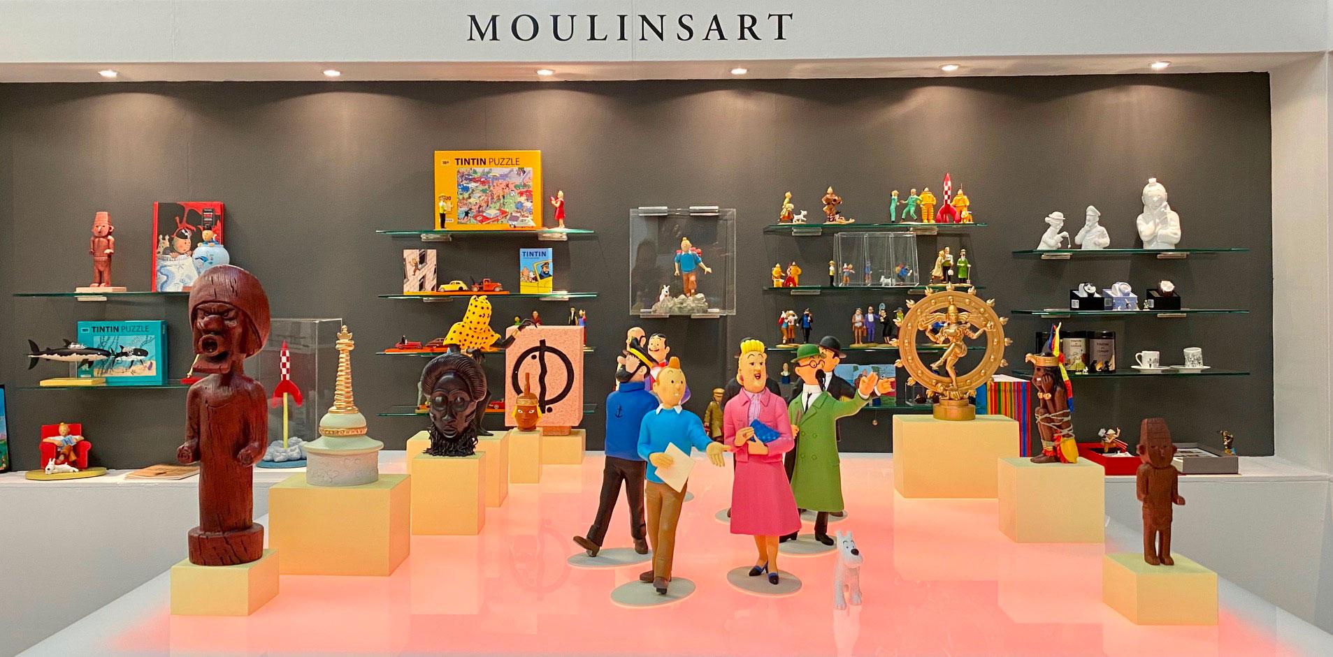 Tintin au salon du jouet de Nuremberg 2020