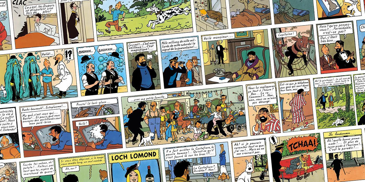 Jamais seul avec Tintin