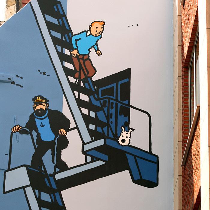 La Boutique Tintin de Bruxelles est impatiente de vous retrouver