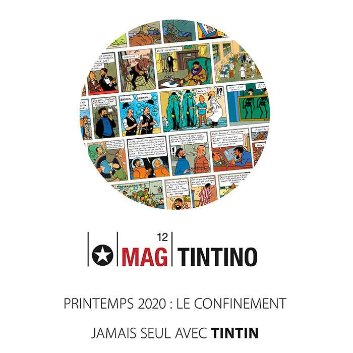 Mag Tintino 12 : Jamais seul avec Tintin «spécial confinement »