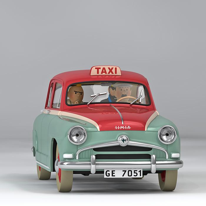 Les voitures de Tintin sont de retour en France