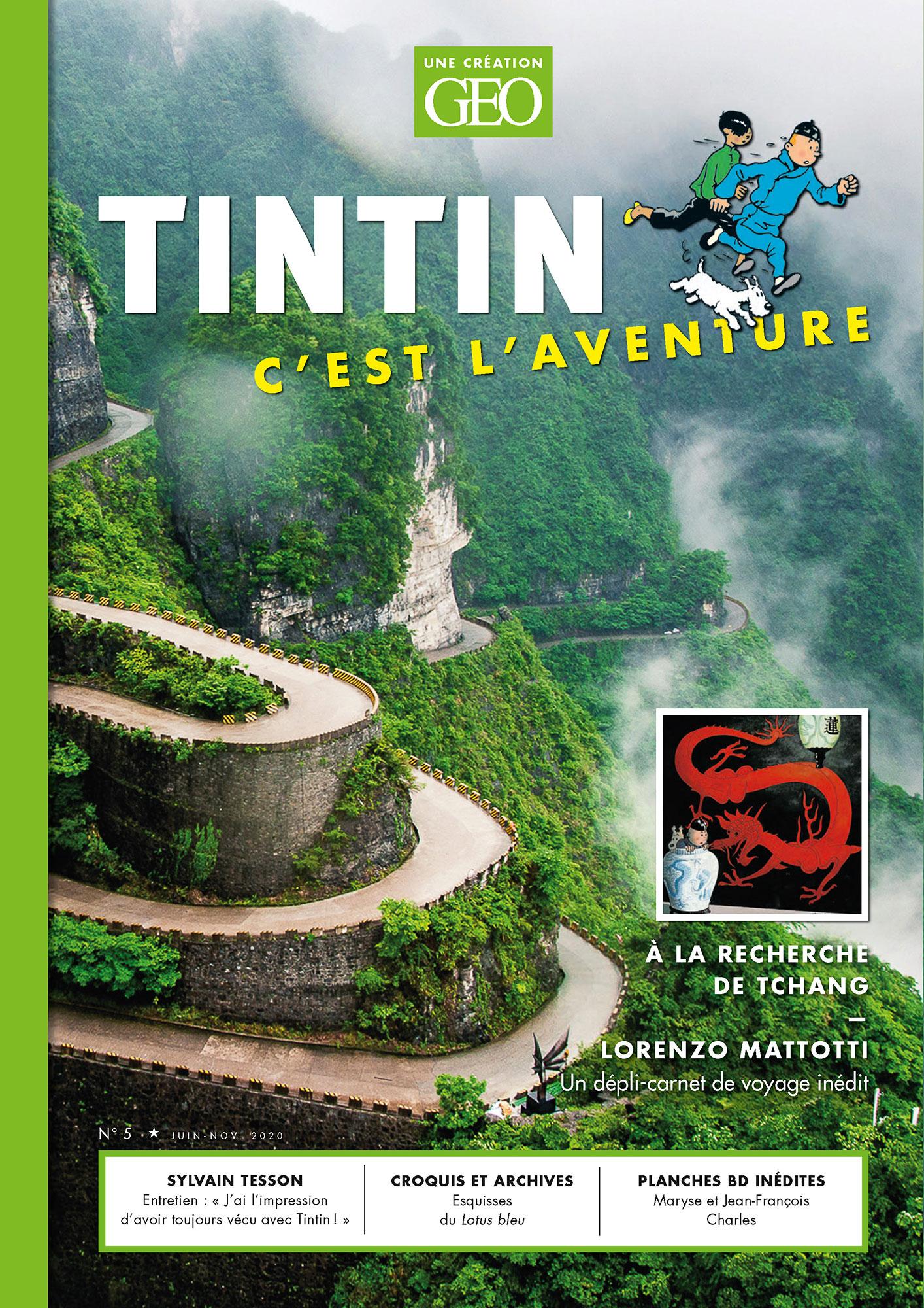 Géo Tintin c'est l'aventure tome 5