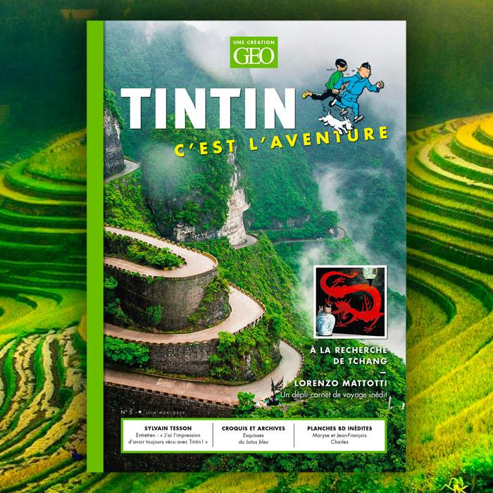 Tintin c'est l'Aventure : un 5e numéro spécial Chine