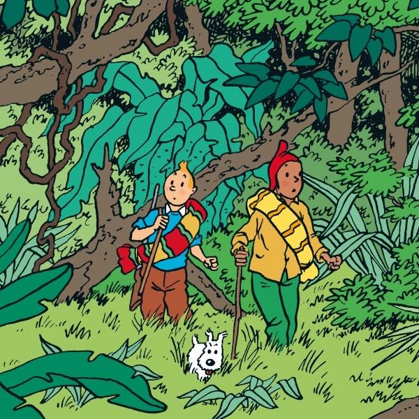 Calendrier Tintin 2021 Le nouveau calendrier Tintin 2021