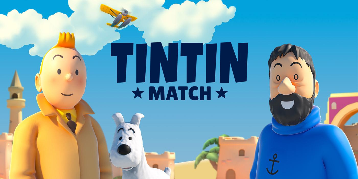 """Lancement mondial de """"Tintin Match"""" pour Android et iOS ce lundi 31 août 2020"""