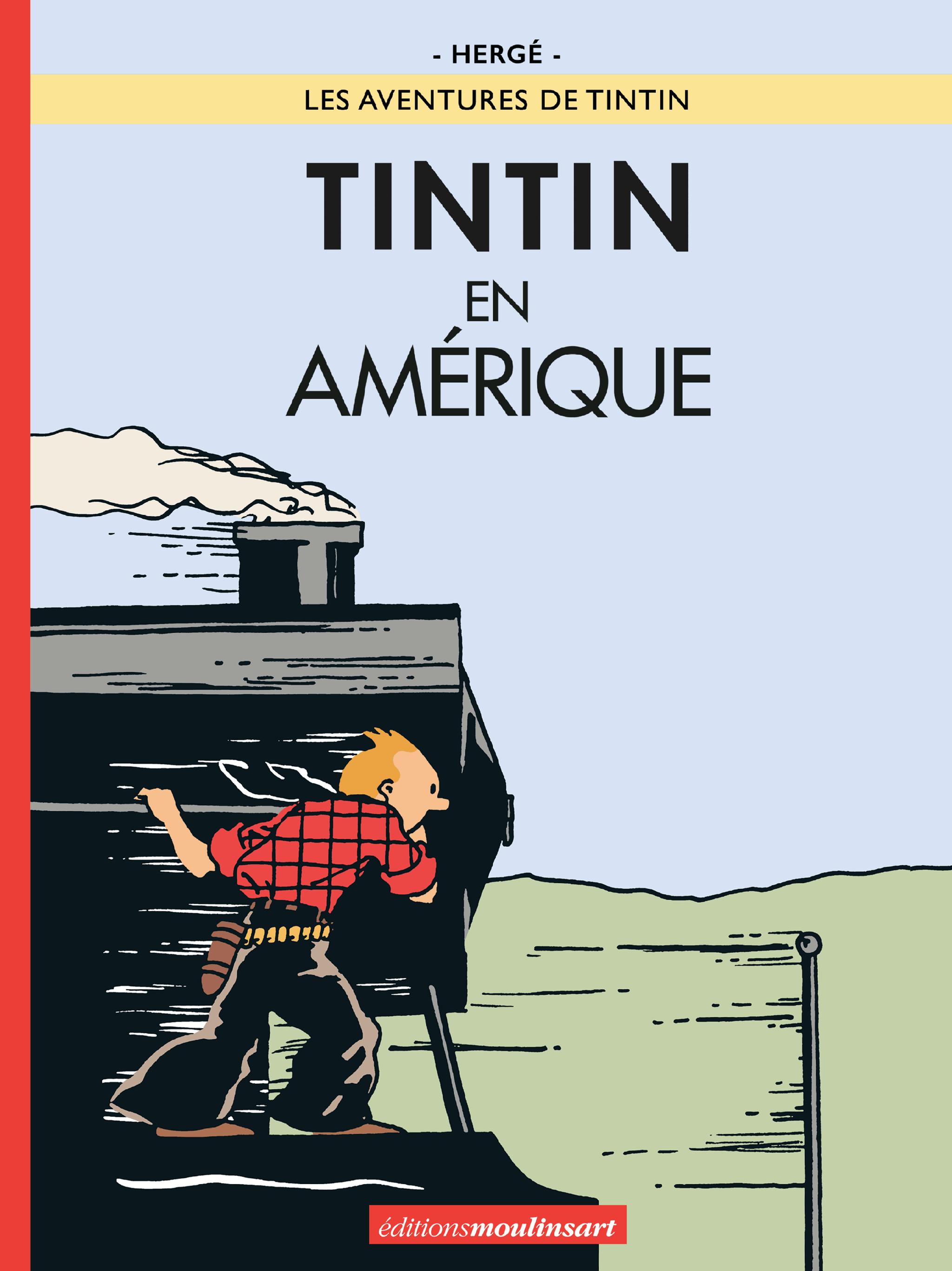 Tintin en Amérique version colorisée