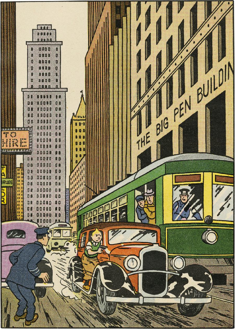 Tintin en Amérique - Hors texte couleurs