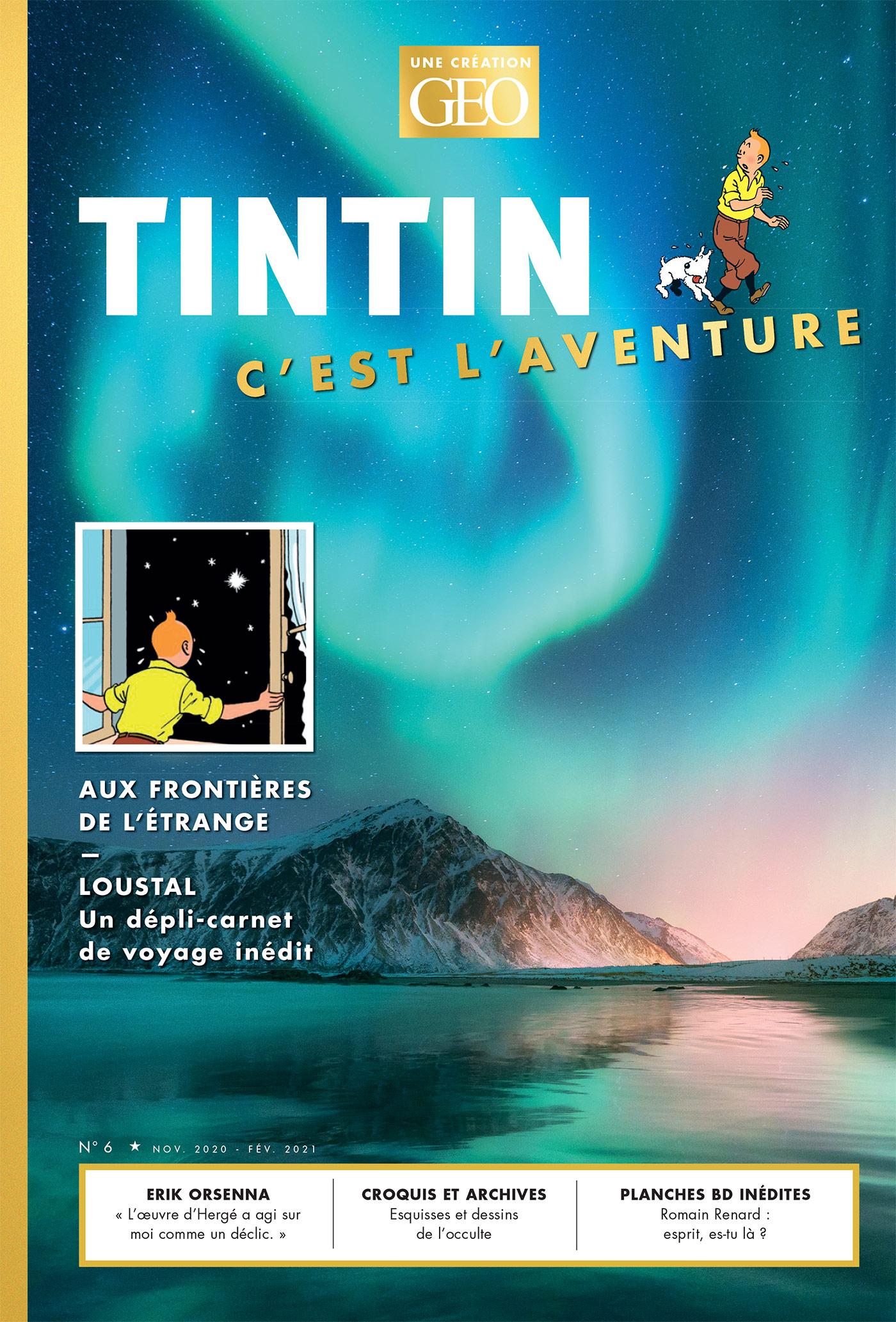 Couverture de Tintin c'est l'Aventure
