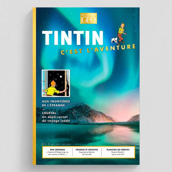 Tintin c'est l'aventure n°6 : aux frontières de l'étrange
