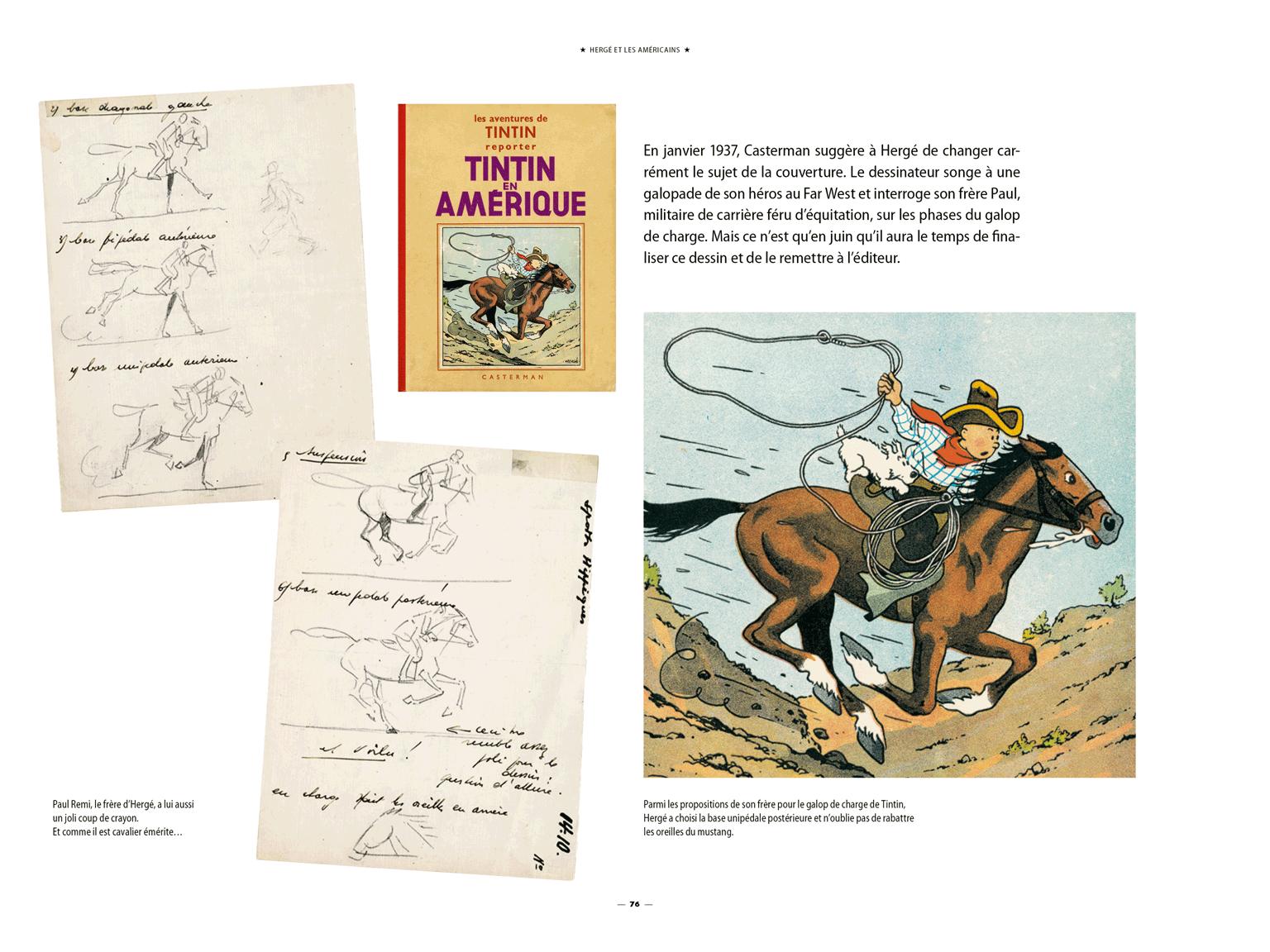 Hergé, Tintin et les Américains par Philippe Goddin