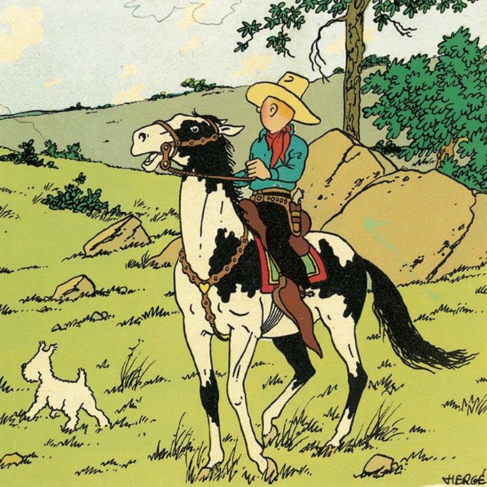 En Amérique avec Tintin