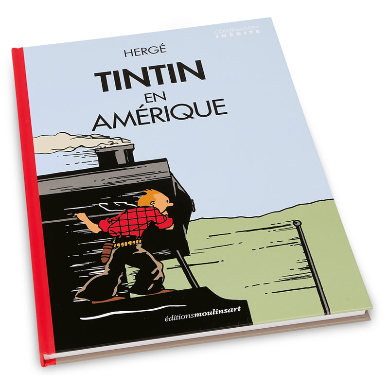 """""""Tintin en Amérique"""", nouvelle adaptation colorisée"""