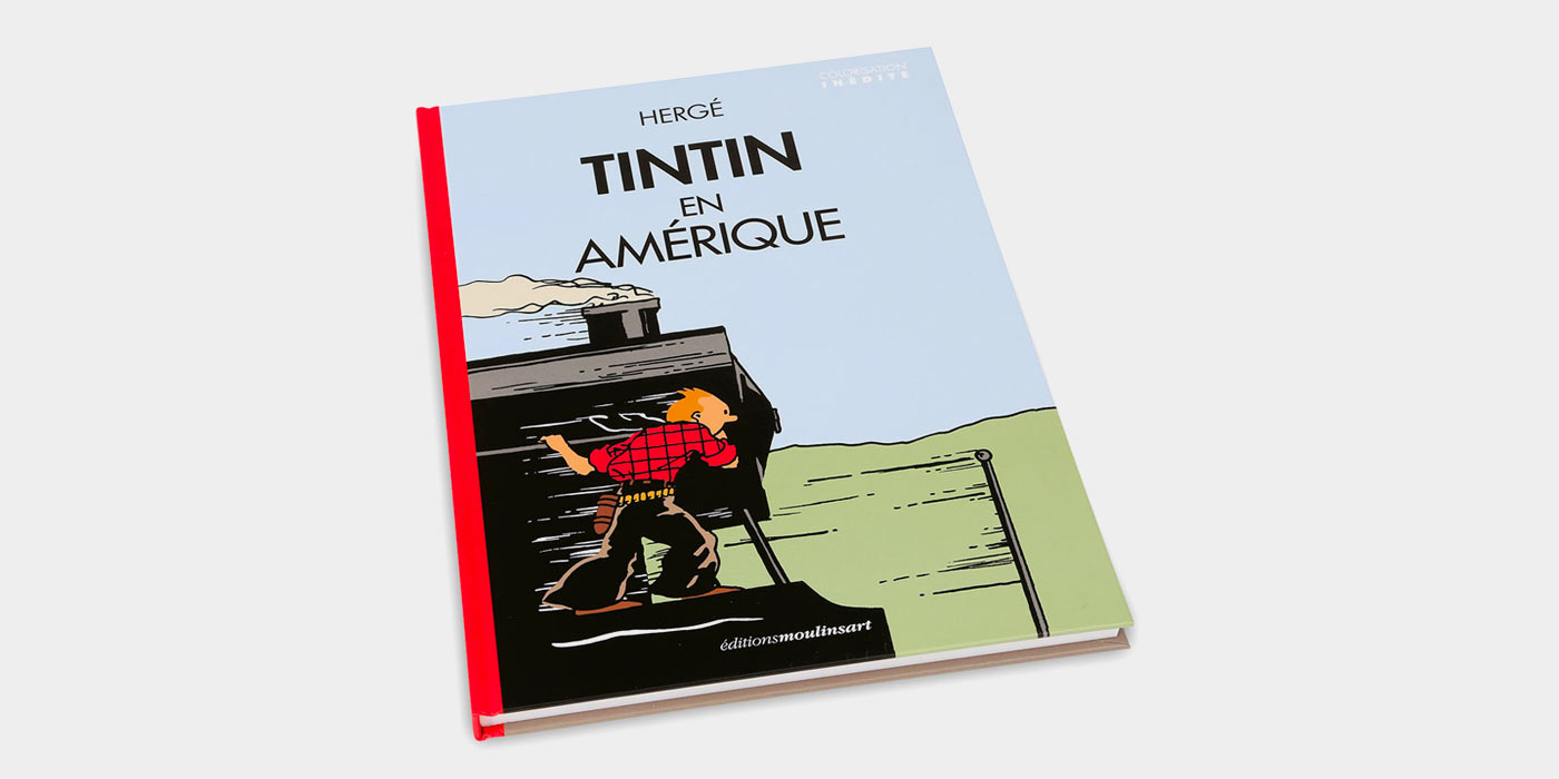 """Tintin in America"", a new coloured edition"