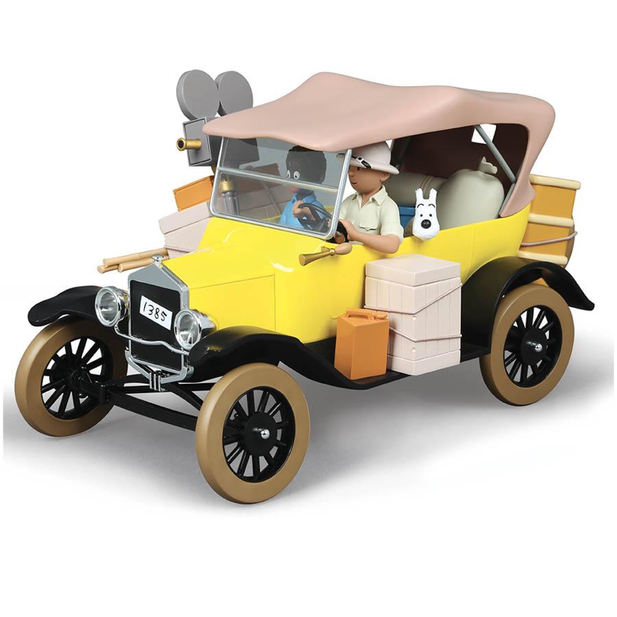 Tintin's yellow car