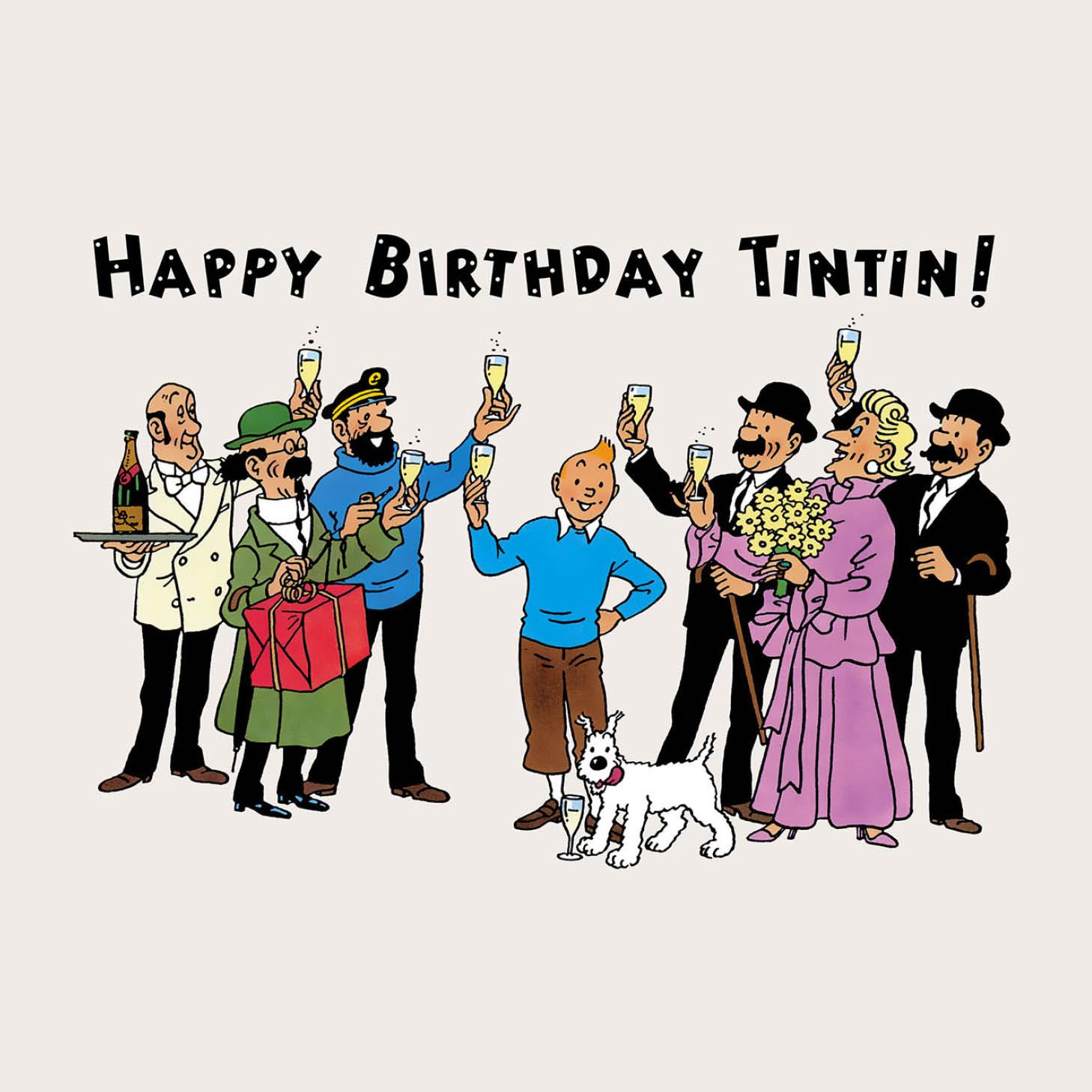Happy birthday Tintin !