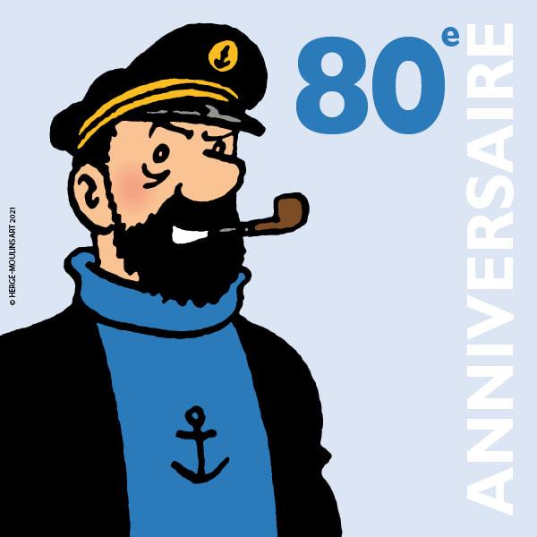 Le quiz du 80ème anniversaire du capitaine Haddock