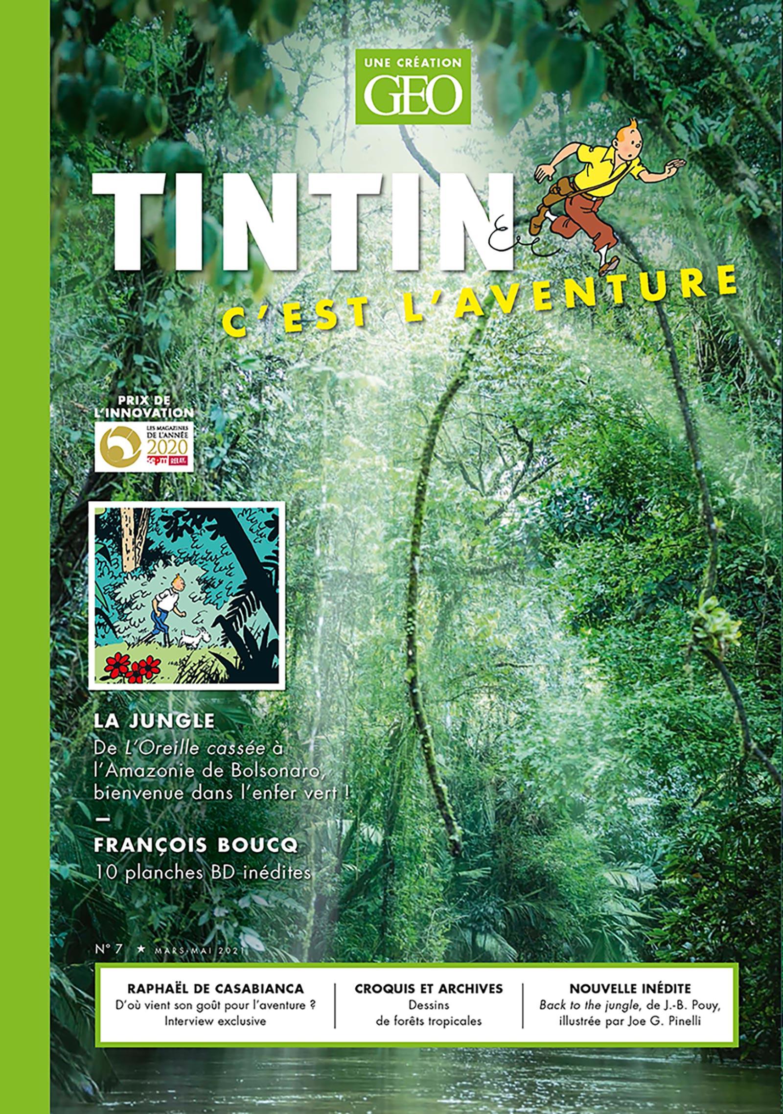 Tintin c'est l'Aventure n°7