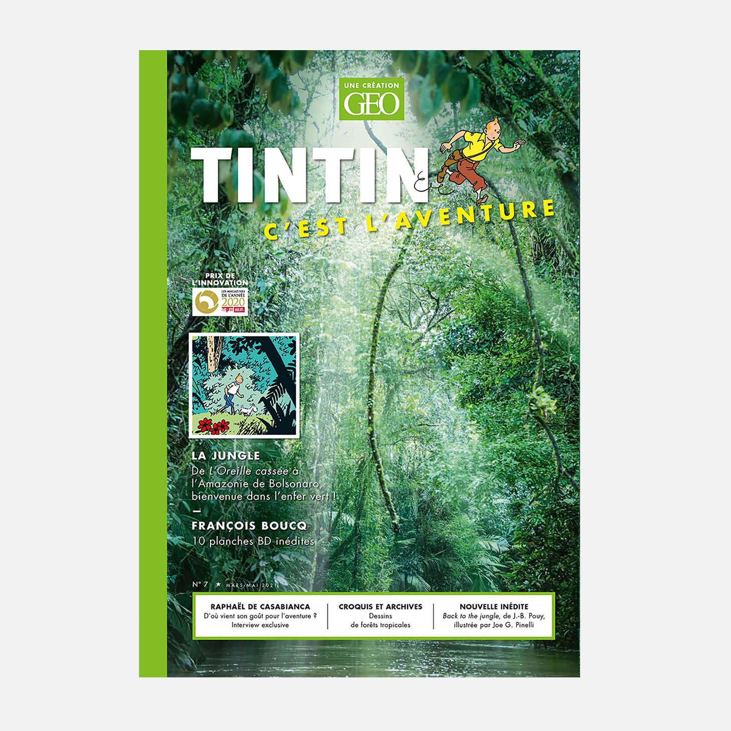 Tintin c'est l'Aventure n°7 : Dans l'enfer vert avec Tintin