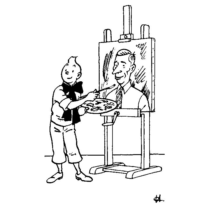 "The exhibition ""Hergé"" in Lisbon"