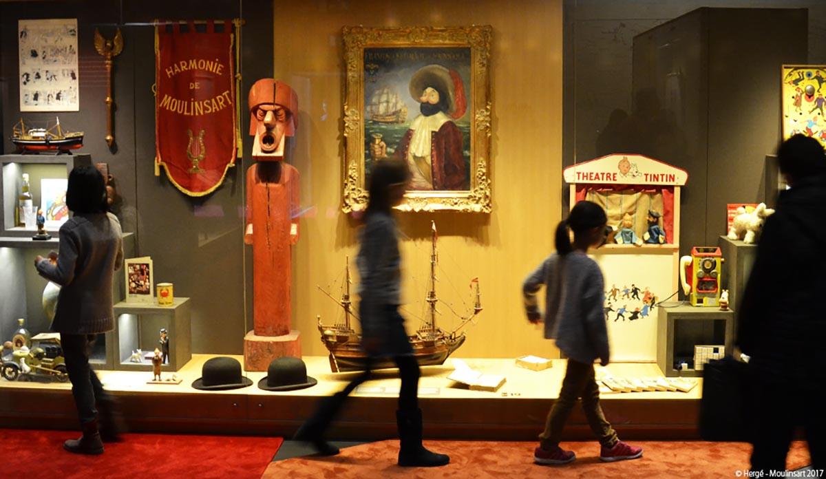 Passage au Musée Hergé