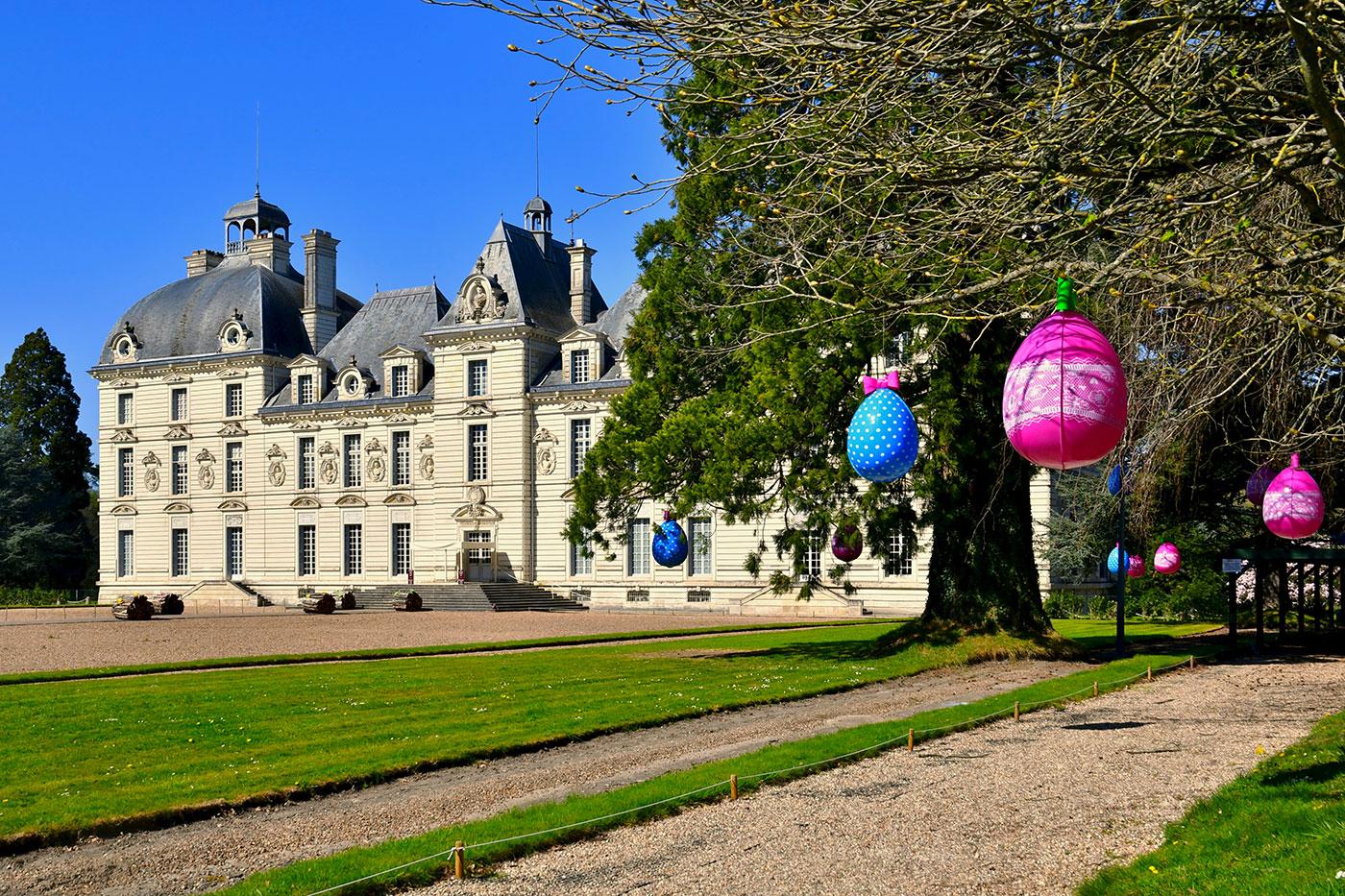Le Château de Cheverny aux couleurs de Pâques