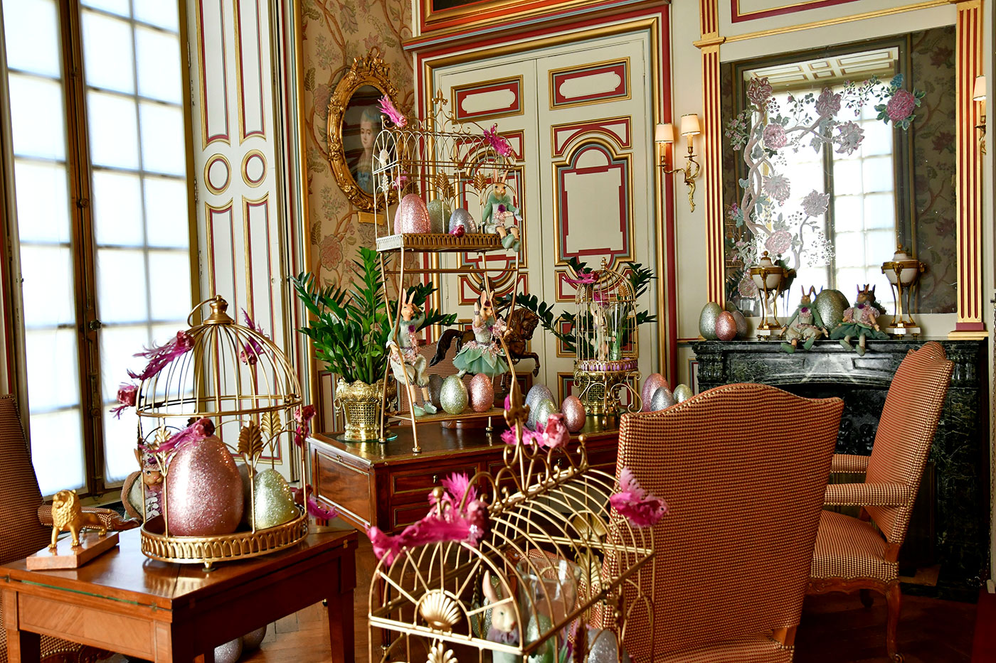 The Château de Cheverny is ready for Easter