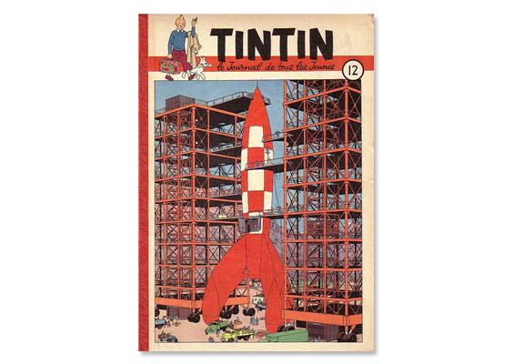 couverture du Journal Tintin en 1950