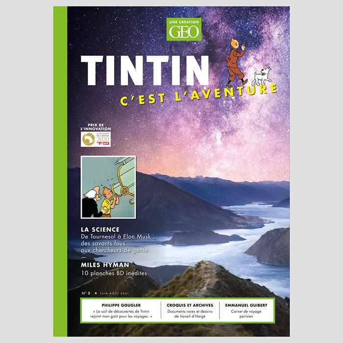 Tintin c'est l'Aventure n°8 : Aventurier de la science