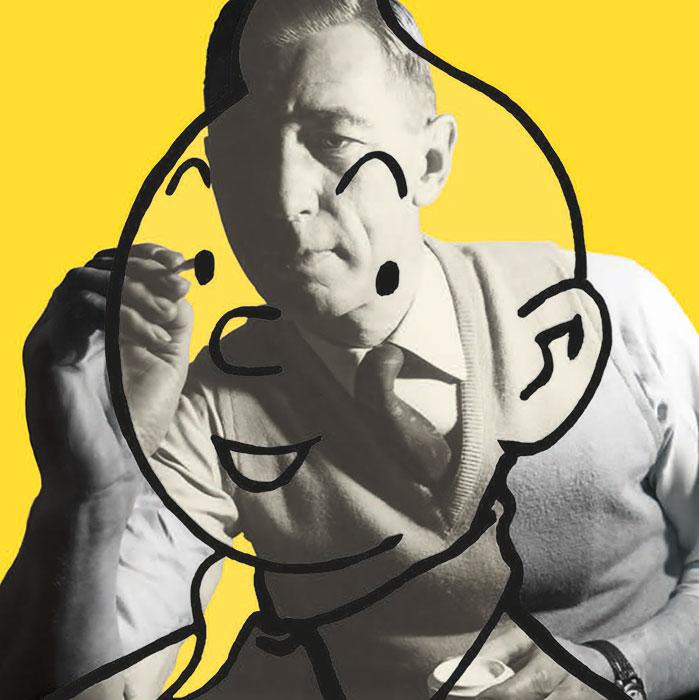 Exposition : Tintin et Hergé