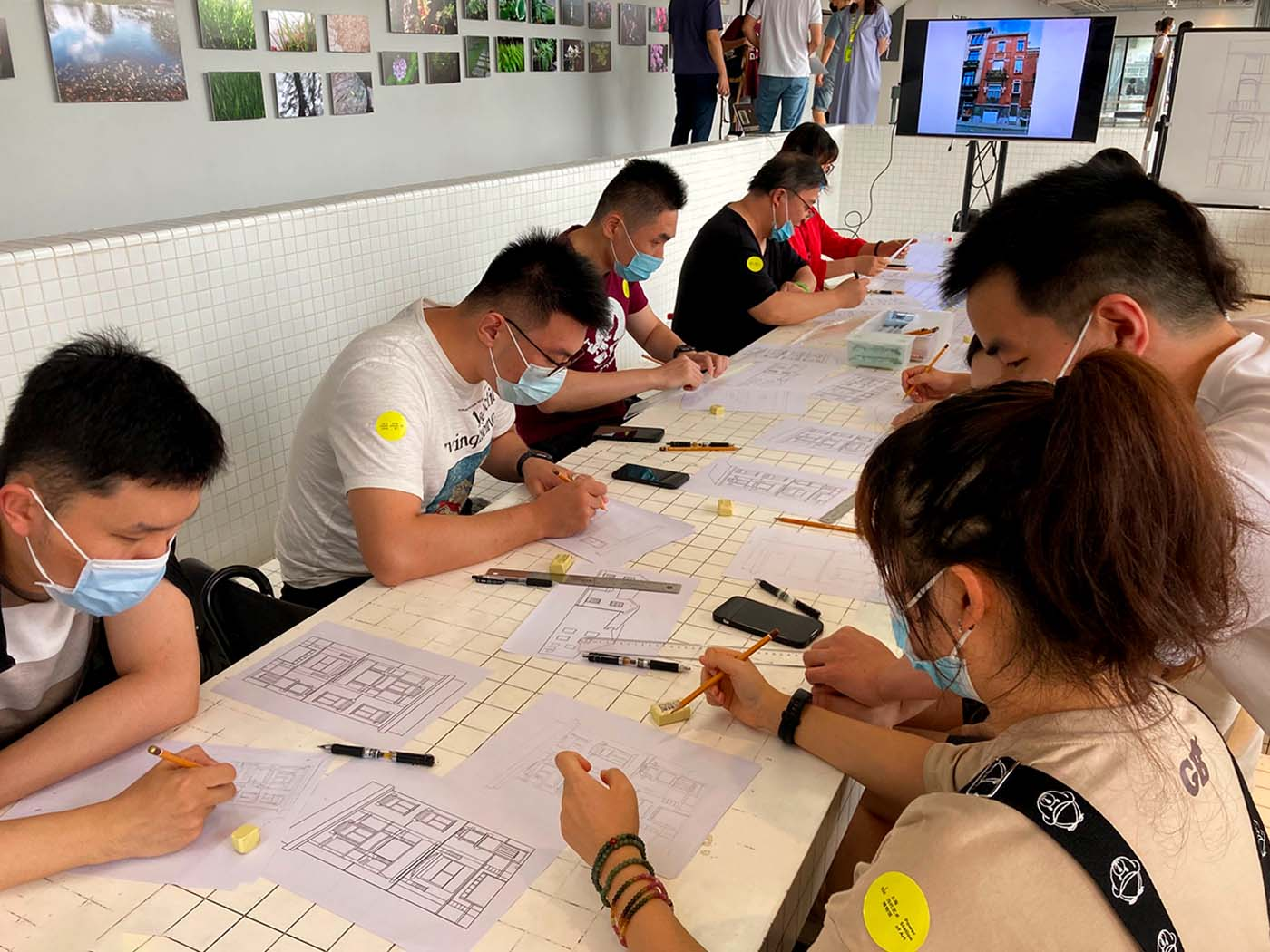 workshop Tintin à Shanghai